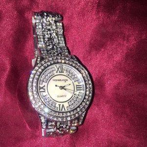 Michael Kors Bedazzled Watch Never Worn!